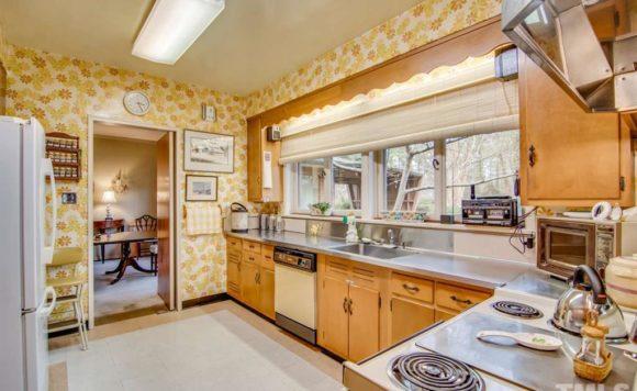 Truly mid-century kitchen
